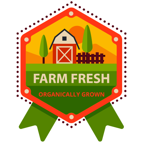 Farm Fresh and 100% Organic